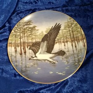 Vintage Hamilton Collection Osprey Plate
